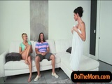 India Summer and Kate England hot trio