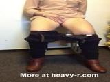 Gushing Orgasm In Waiting Room - Amateur Videos
