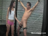 Handjob For Chained Young Guy - Bdsm Videos