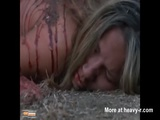 Abducted Blonde Cut Nipples And Snuff Fucked  - Necrophilia Videos