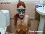 Masked Scat Slut - Scat Videos