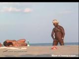 Black Guy Masturbating On Nudist Beach - Public masturbator Videos