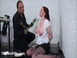 Bizarre spanking and messy humiliation