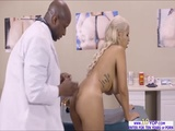 Bridgette takes a huge cock in her ass