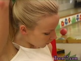 Hot masturbation play with dildo Cindy and Amber fucking each other in
