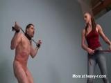 Sadistic Mistress Whipping Her Slave Hard - Mistress Videos