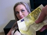 Amazing Teen Agrees To Give Up Her Pussy For Cash