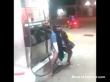 Crazy Woman Refueling Her Pussy At Gas Station - Fueling Videos