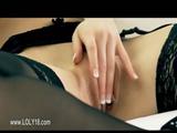 Super sweet chick masturbation in erotic movie 2