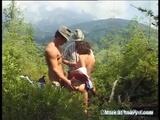 Crazy Double Penetration With Teen On Mountain - Mountain Videos