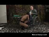 Legless Grandpa Fucking Nurse - Amputi Videos