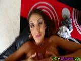Busty hotties tits jizzed 2
