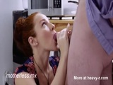 Sexy Redhead Giving Blowjob - Redhead Videos