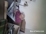 Care Taker Masturbating With Senile Grandma In Room - Squart Videos