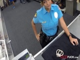 Security officer pounded by pawnkeeper