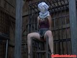 Sub sex slave pleasures her master