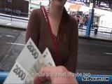 Busty Czech girl Helen railed for cash