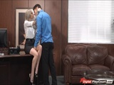 Busty doctor Kleio nailed in the ass