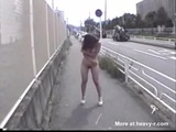 Asian Walking Nude In Public And Pissing - Public nudity Videos