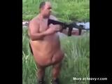 Fat Fucker Has A Built In Holster - Fat Videos