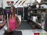 Tattoed babe Layla London cowgirl sex