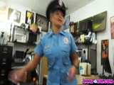 Bitch Police Officer Will Fuck For Money