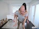 Super slim Sadie Pop pounded by big dick