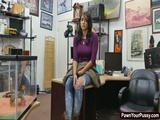 Jessi engage in a wild office sex