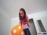 Teen slut Brooke Bliss fucks on camera