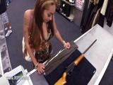 Amateur chick showing super fucking action 12