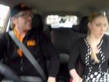 Fake Driving School Busty Blonde Georgie Lyall