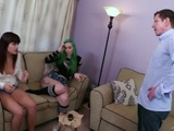 Anal Delinquent: Babysitters Blackmailed [FULL VID] Taurus & Raquel Roper