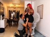 Sexy Exotic Ebony Bbw Dippd N Redd And Juan Largo
