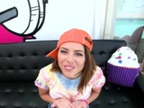 Adriana Chechik Returns For Some Slobbery Fellatio And Face