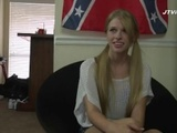 Southern White Girl gets Blacked