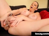 Hall of Famer Sara Jay Bangs Her Cunt & Shows Off Her Body!