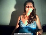 Preggo Girl In Webcam