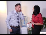 Audrey Bitoni Hard fuck in office - Naughty America