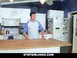 StepSiblings - Flustered Teen Rides Stepbros Cock
