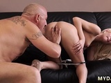 Old Woman Huge Tits Horny Blond Wants To Try Someone Lil'