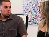 Hispanic Couple Enjoys Meeting Others