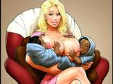 Blondiner Fru Onanera Till Orgasmer