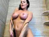 Camsoda - Kendra Lust Extra Wet Shower Masturbation Orgasm