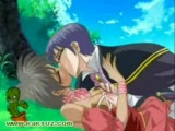 Hentai video where a princess gets fucked under a tree